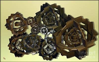 Digital Art - Gearless by Ron Bissett