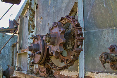 Photograph - Gears And Bolts by Alana Thrower