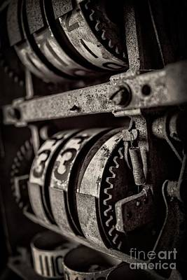 Photograph - Gears And Dials by Edward Fielding