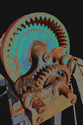Photograph - Gears  by Ann Powell