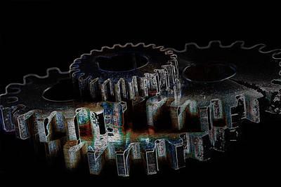 Photograph - Gears by David Andersen