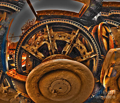 Digital Art - Gears Gone Mad by Clayton Bruster