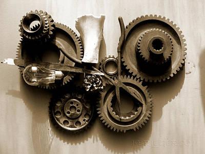 Gears IIi Print by Jan Brieger-Scranton