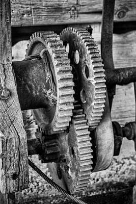 Photograph - Gears by John McArthur