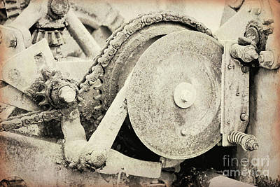 Photograph - Gears Nuts And Bolts by Jackie Farnsworth