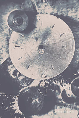 Pinion Photograph - Gears Of Old Industry by Jorgo Photography - Wall Art Gallery