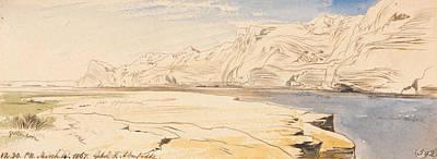 Drawing - Gebel Sheikh Abu Fodde, Twelve-thirty Pm, 4 March 1867 by Edward Lear