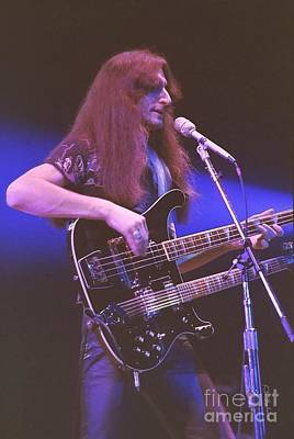 Photograph - Geddy Lee 1 by Kevin Bohner