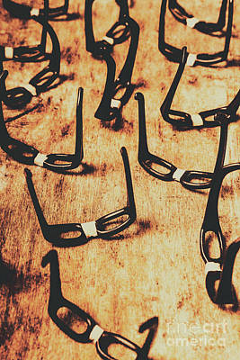 Eyeglasses Photograph - Geeks Nobody Scene by Jorgo Photography - Wall Art Gallery