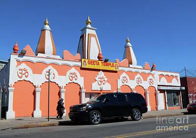 Photograph - Geeta Temple Ashram by Steven Spak