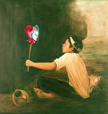 Gegensaetze Oder Murillo Heute / Extremes Or Murillo Today Art Print