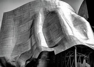 Photograph - Gehry Emp Seattle by Michael Hope