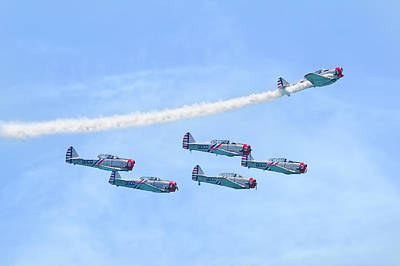 Photograph - Geico Skytypers Squadron by Mark Andrew Thomas