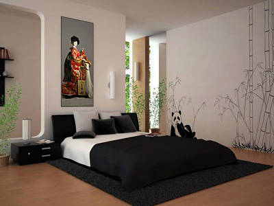 Doll Photograph - Geisha Bedroom by J Darrell Hutto