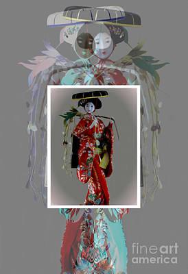 Photograph - Geisha Elegance II by Al Bourassa