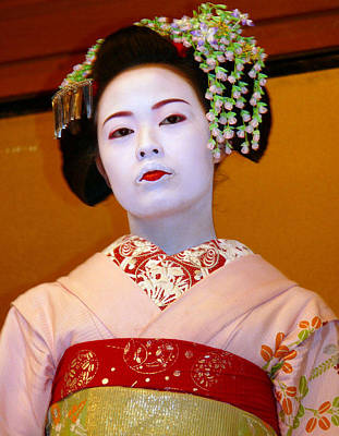 Photograph - Geisha by Joel Gilgoff