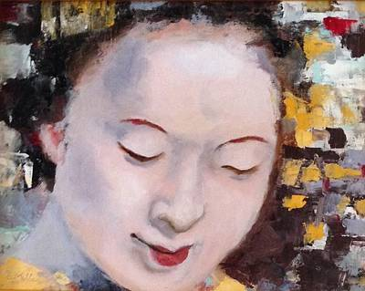Painting - Geisha by Sylvia Miller