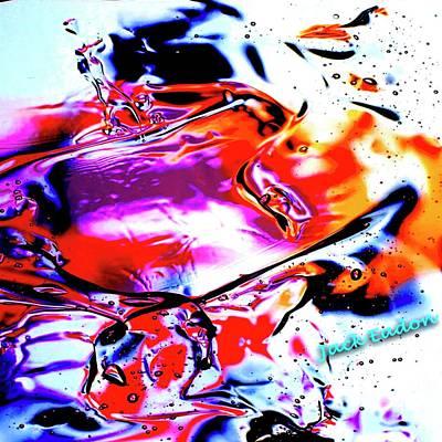 Gel Art #14 Art Print by Jack Eadon