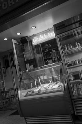 Photograph - Gelateria by SR Green