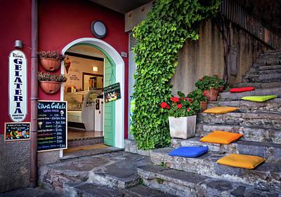 Photograph - Gelato Shop by Carolyn Derstine