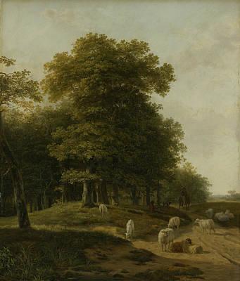 Gelders Landscape Art Print by Hendrik van de Sande Bakhuyzen
