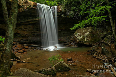 Photograph - Gem Of Ohiopyle by Adam Jewell