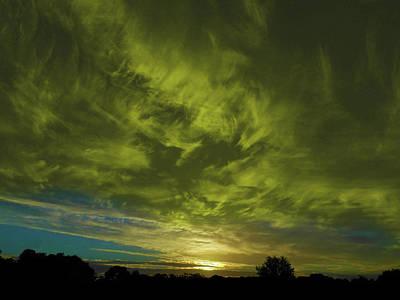 Photograph - Gem Sunset by Mark Blauhoefer