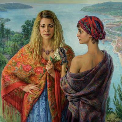 Painting - Gemelli by Serguei Zlenko