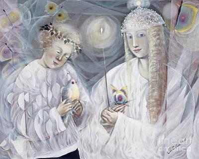 Choir Painting - Gemini by Annael Anelia Pavlova