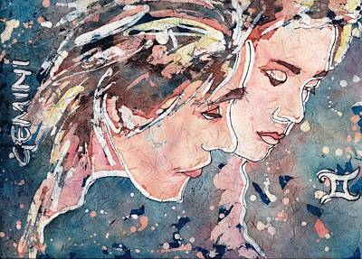 Painting - Gemini by Ruth Kamenev
