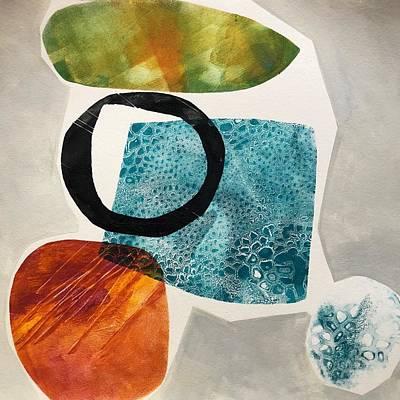 Wall Art - Painting - Gemstones 2 by Jeanne Byron
