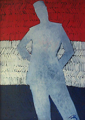 Painting - Gendarme American by Thomas Tribby