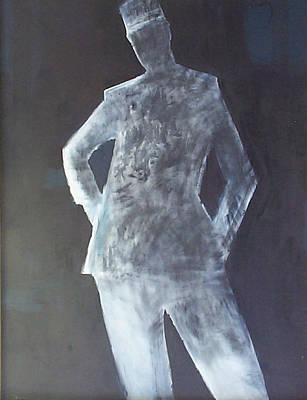 Painting - Gendarme German by Thomas Tribby