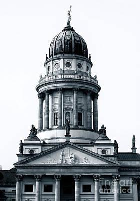 Photograph - Gendarmenmarkt Churches by John Rizzuto