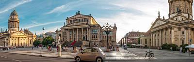 Photograph - Gendarmenmarkt Platz / Berlin by Stavros Argyropoulos