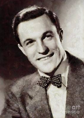 Gene Kelly, Hollywood Legend Art Print