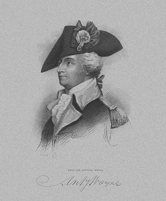 General Anthony Wayne Art Print by War Is Hell Store