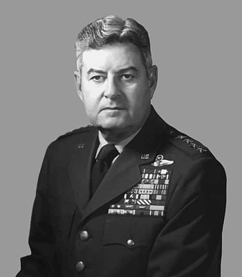 U.s Army Painting - General Curtis Lemay by War Is Hell Store