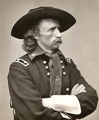 General Custer Art Print by Bill Cannon