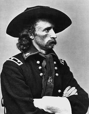 General Custer - Civil War Art Print by War Is Hell Store
