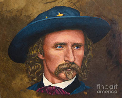 General Custer Original by Stu Braks