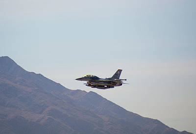 Photograph - General Dynamics F-16 Wa 839 - Nellis Afb by John Black
