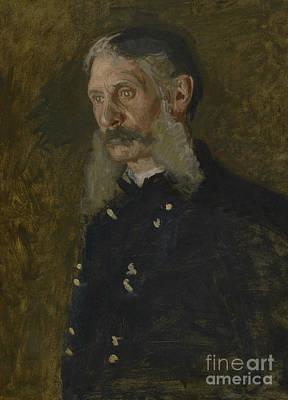 Smart Painting - General E Burd Grubb by Thomas Cowperthwait Eakins