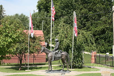 Photograph - General From Waverly by Anthony Cornett