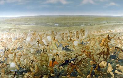 General George Armstrong Custers Last Art Print