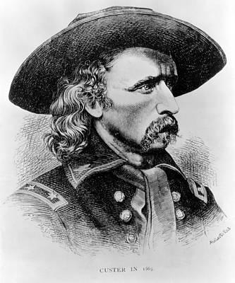 General George Custer, 1865 Print by Everett