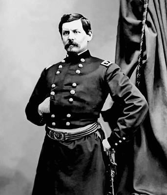 General George Mcclellan Art Print by War Is Hell Store