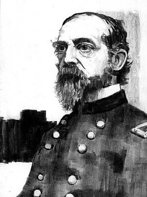 Drawing - General George Meade by Paul Sachtleben