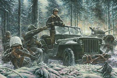 General George Patton Art Print by Dan Nance
