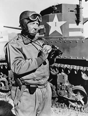 1940s Portraits Photograph - General George S. Patton 1885-1945 by Everett
